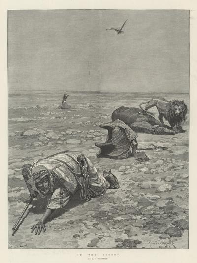 In the Desert-Richard Caton Woodville II-Giclee Print