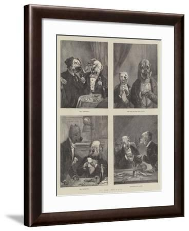In the Dog-Days--Framed Giclee Print