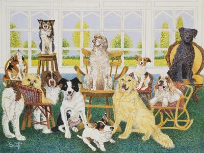 In the Dog House-Pat Scott-Giclee Print