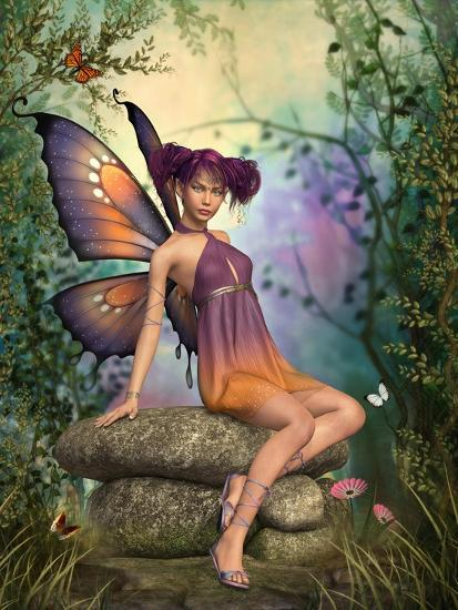 In The Fairytale Forest-Atelier Sommerland-Art Print