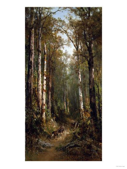 In the Forest, 1885-Thomas Hill-Giclee Print