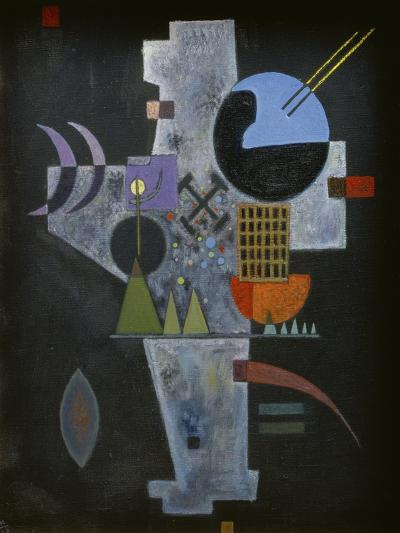 In the form of a cross. 1926-Wassily Kandinsky-Giclee Print