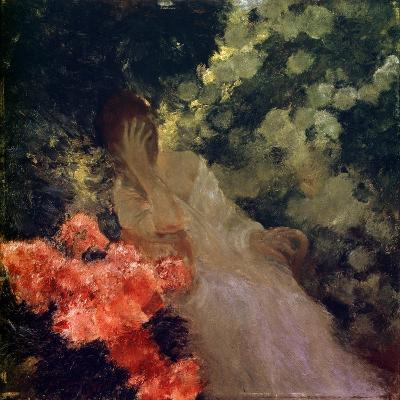 In the Garden, 1898-Gaston De Latouche-Giclee Print