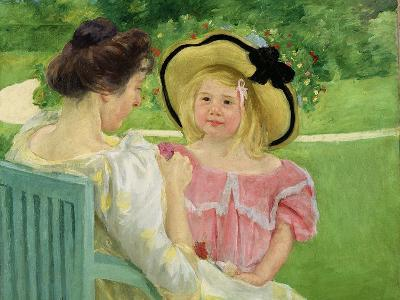 In the Garden, 1903/04-Mary Cassatt-Giclee Print