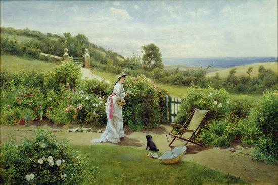 In the Garden, 1903-Thomas James Lloyd-Giclee Print