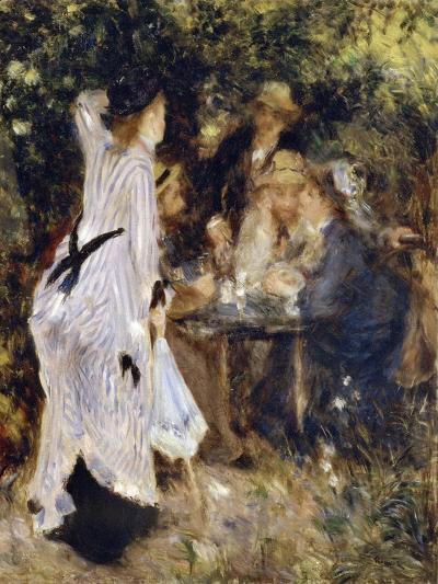 In the Garden (Au Jardin Du Moulin De La Galett), 1876-Pierre-Auguste Renoir-Giclee Print