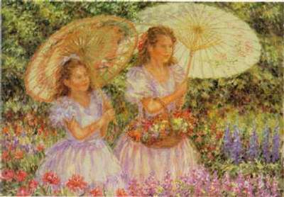In the Garden I-Konin-Art Print