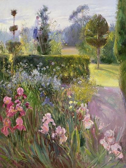 In the Garden - June-Timothy Easton-Giclee Print