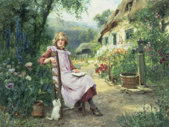 In the Garden-Henry John Yeend King-Giclee Print