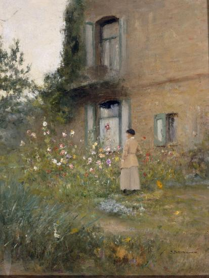 In the Garden-Ivan Pavlovich Pochitonov-Giclee Print