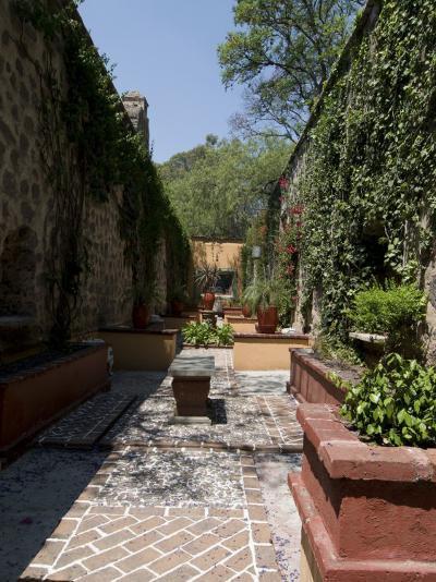 In the Gardens of the Hacienda San Gabriel De Barrera, in Guanajuato, Guanajuato State, Mexico-Robert Harding-Photographic Print