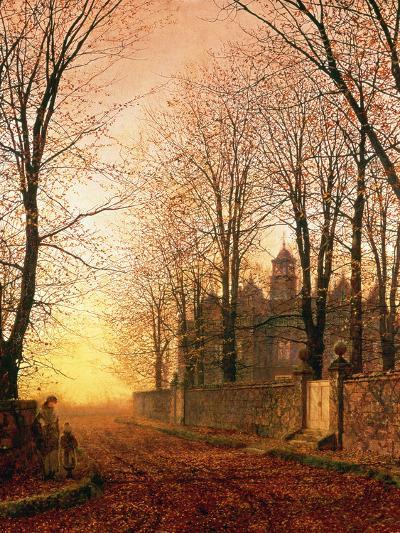 In the Golden Olden Time, C.1870-John Atkinson Grimshaw-Giclee Print