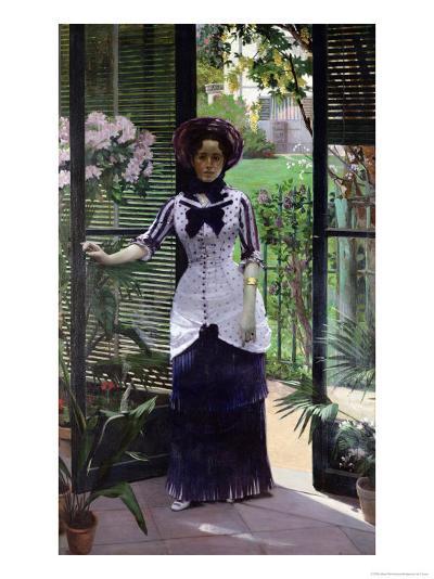 In the Greenhouse, 1881-Albert Bartholome-Giclee Print