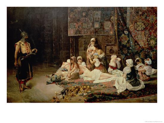 In the Harem, 1884-Jose Gallegos Arnosa-Giclee Print