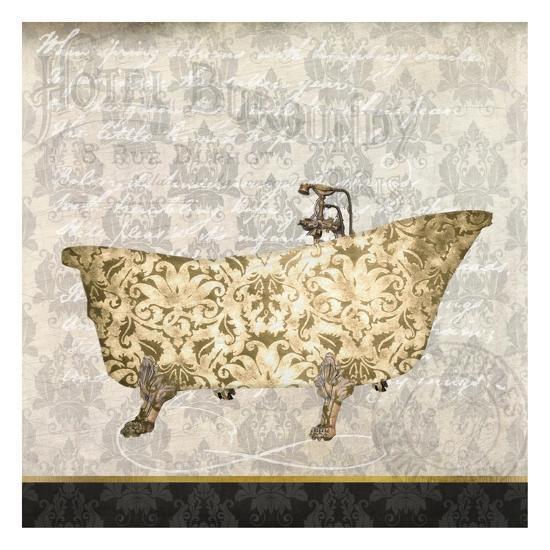 In The Hotel 1-Kimberly Allen-Art Print