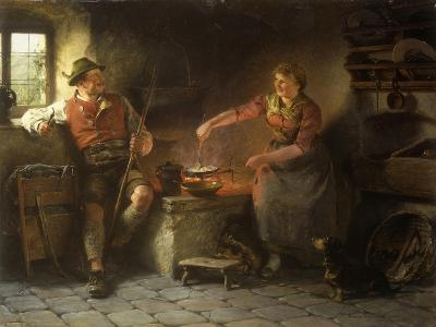 In the Kitchen, 1901-Hugo Wilhelm Kauffman-Giclee Print