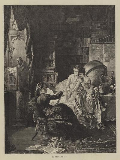 In the Library--Giclee Print