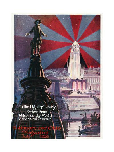 In the Light of Liberty 1926-Charles H. Dickson-Giclee Print