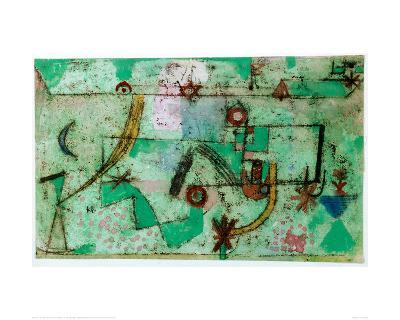 In the Manner of Bach, 1919-Paul Klee-Giclee Print