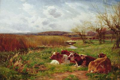 In the Meadow-Charles James Adams-Giclee Print