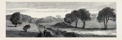 In the Meath Hunting Country: Holywood Rath House Ireland 1879--Giclee Print
