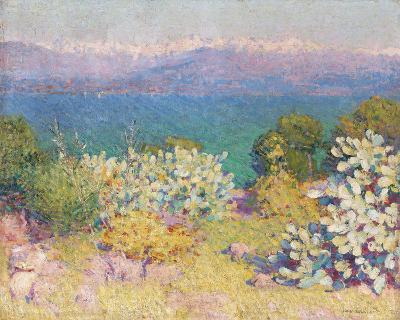 In the Morning, Alpes Maritime from from Antibes-John Peter Russell-Giclee Print