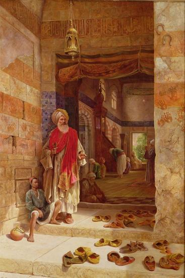 In the Name of the Prophet, Alms! 1877-Charles Robertson-Giclee Print
