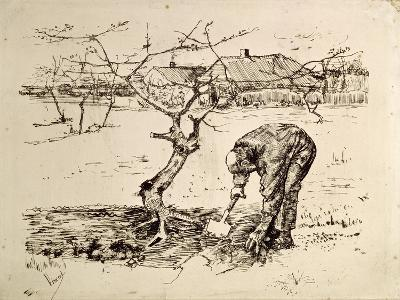 In the Orchard 1883-Vincent van Gogh-Giclee Print