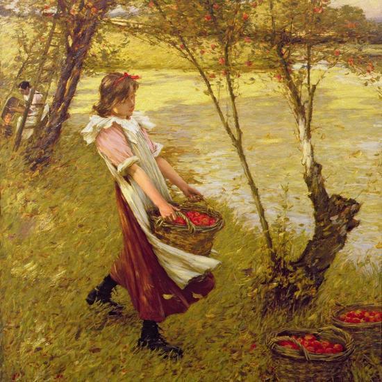 In the Orchard, Haylands, Graffham-Henry Herbert La Thangue-Giclee Print