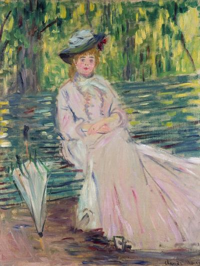 In the Park, 1878-Claude Monet-Giclee Print