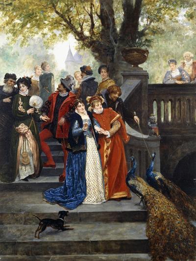 In the Park; Dans Le Parc-Jules Arsene Garnier-Giclee Print