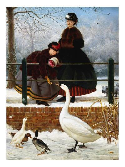 In the Park-George Dunlop Leslie-Giclee Print