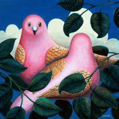 In the Pink-Jerzy Marek-Giclee Print