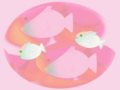 In the Pink-Ruth Palmer Digital-Art Print