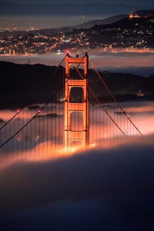 In The Pocket Golden Gate Fog San Francisco Bay Area-Vincent James-Photographic Print