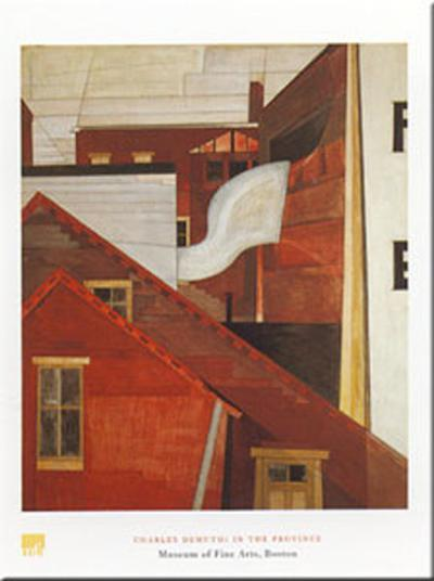 In The Province-Charles Demuth-Art Print