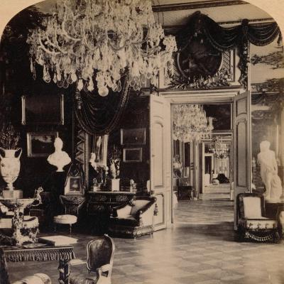 In the Queen's Reception Rooms, Royal Palace, Stockholm, Sweden, 1897- Strohmeyer & Wyman-Photographic Print