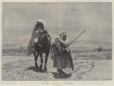 In the Rear of a Caravan-Richard Caton Woodville II-Giclee Print