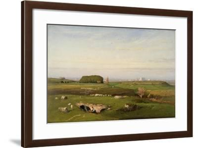 In the Roman Campagna, 1873-George Snr. Inness-Framed Giclee Print