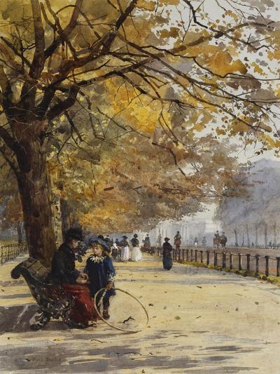 In the Row, Out of Season-Rose Maynard Barton-Giclee Print