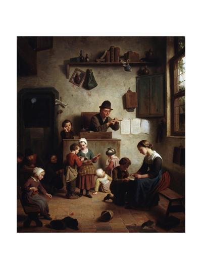 In the School, Early 19th Century--Giclee Print