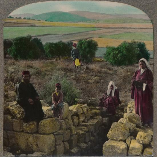 'In the Shepherd's Field, Bethlehem', c1900-Unknown-Photographic Print
