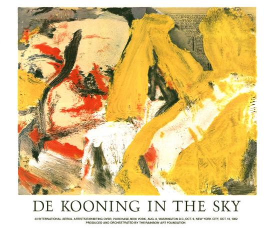 In the Sky-Willem de Kooning-Art Print