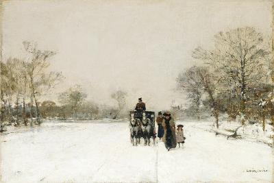 In the Snow-Luigi Loir-Giclee Print