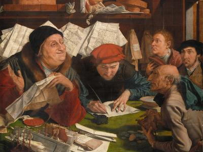 In the Solicitor's Office, 1542-Marinus Van Reymerswaele-Giclee Print