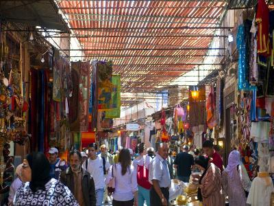 In the Souk, Marrakech, Morocco, North Africa, Africa-Michael Runkel-Photographic Print
