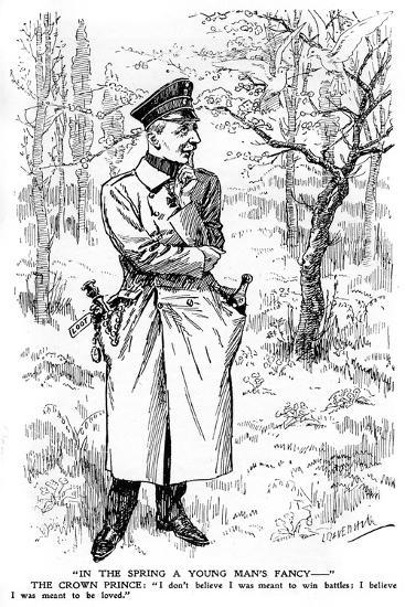 In the Spring a Young Man's Fancy..., First World War--Giclee Print