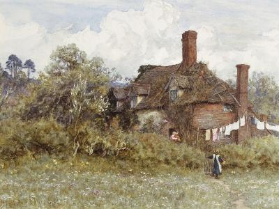 In the Spring-Helen Allingham-Giclee Print