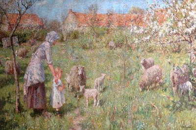 In the Springtime-Frederick William Jackson-Giclee Print