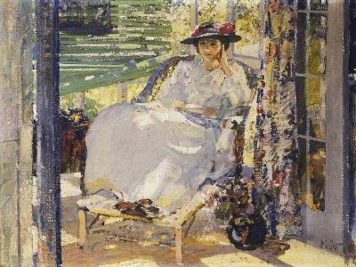 In the Sunroom-Richard Edward Miller-Giclee Print